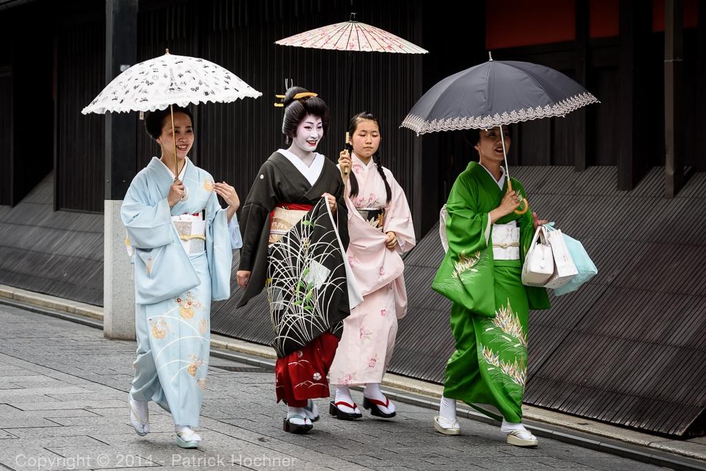 Hassaku event, Gion