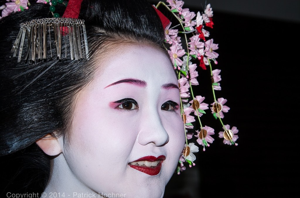 Portrait of a Maiko, Kyoto