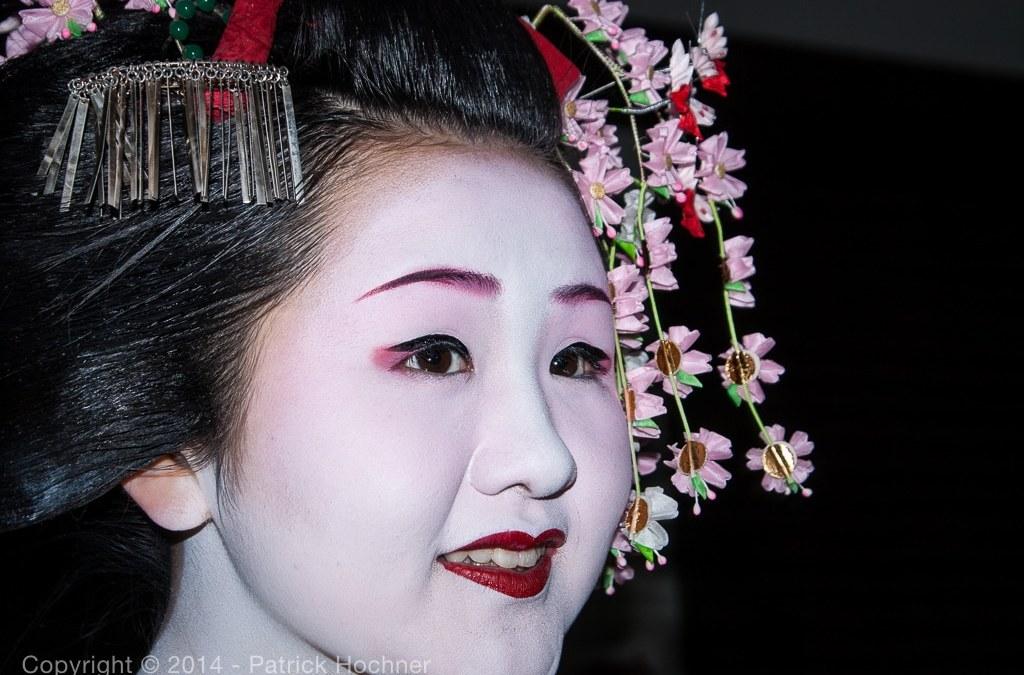 Portrait of a Maiko, Kyoto