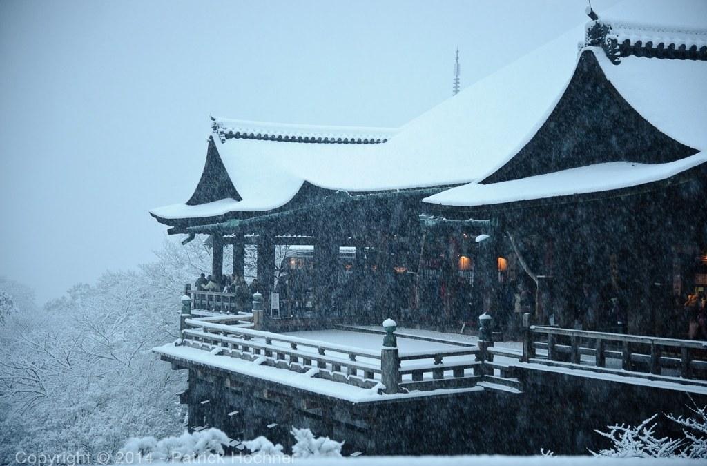 Kiyomizu-Dera under snow