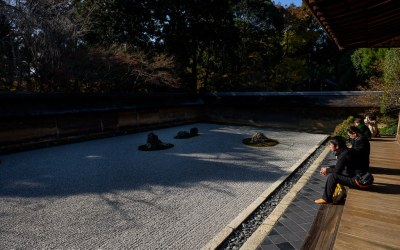 Ryōan-ji, the Zen Rock Garden