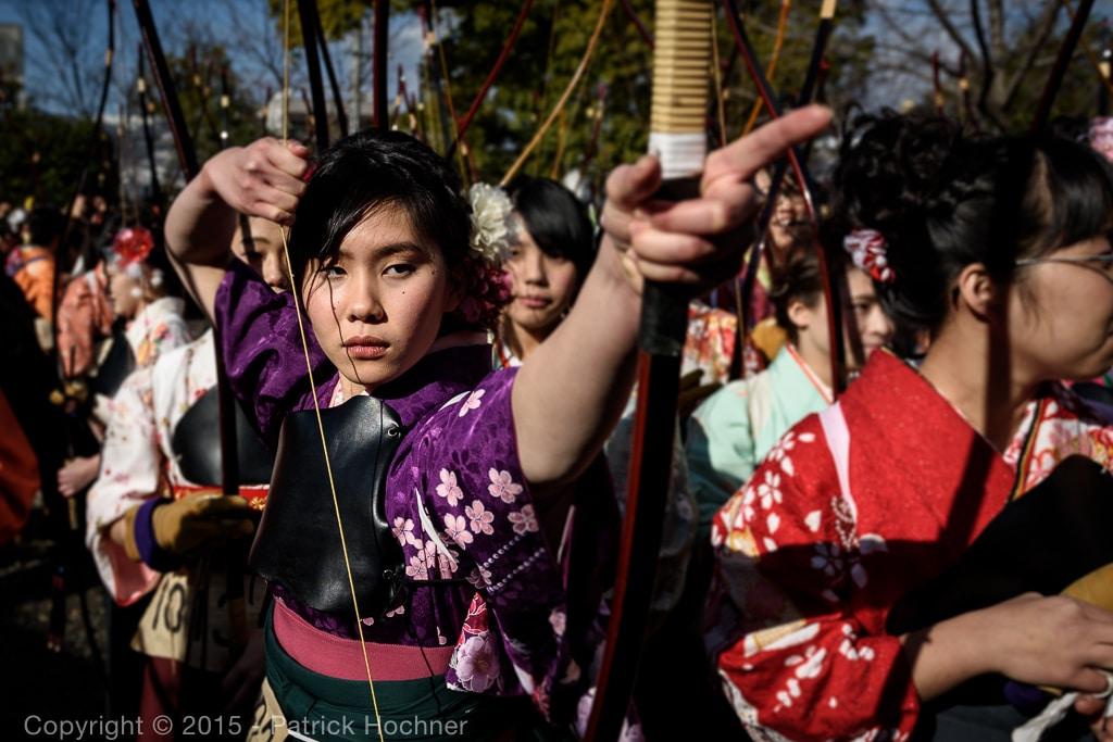 Participant to the Ohmato Taikai