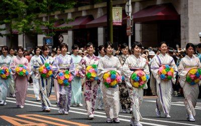 Hanagasa Flower Hat Procession