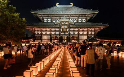 Daimonji Manto Kuyoe, Nara
