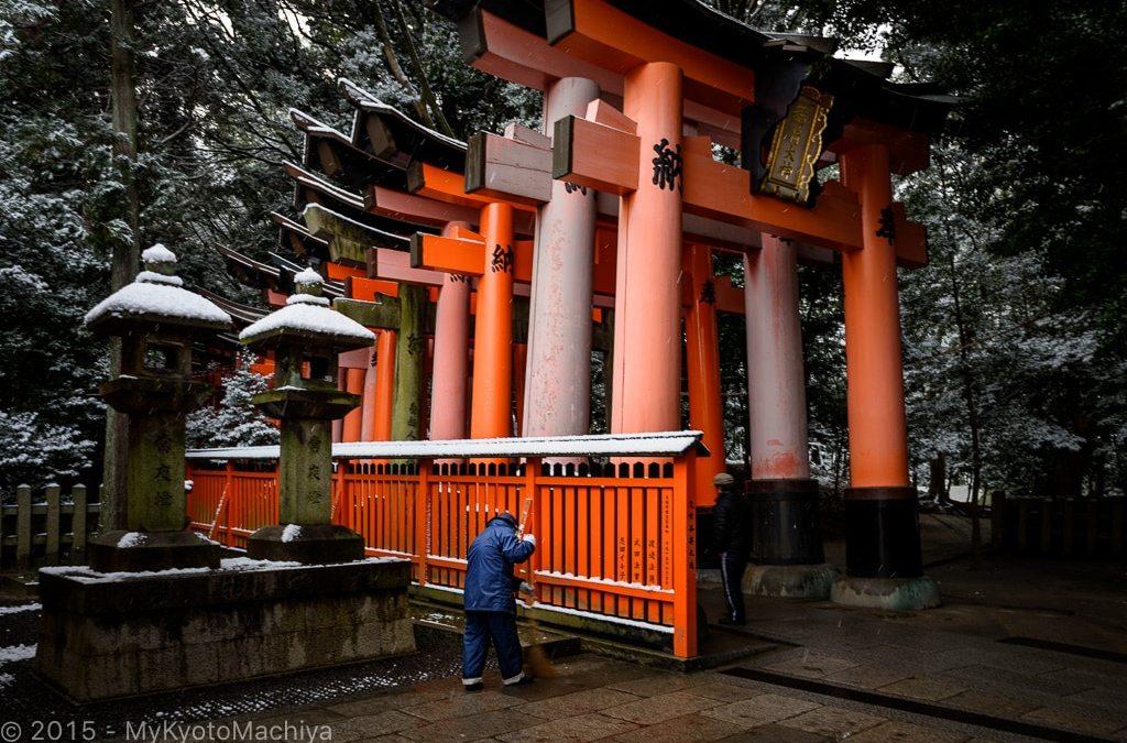 Fushimi Inari Taisha (Winter)