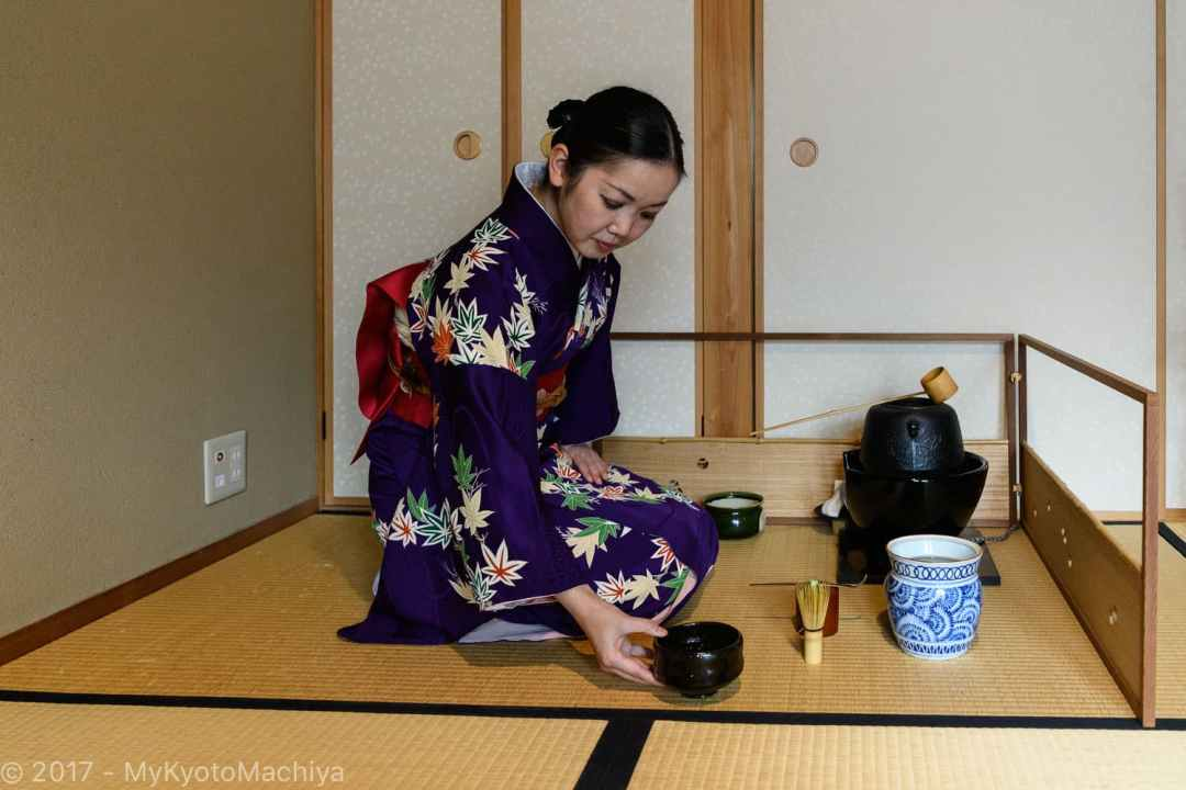 Tea Ceremony at Camellia