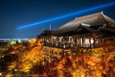 Light up at Kiyomizu Dera, Automn