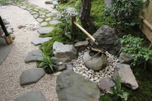Tsuboniwa, open air garden courtyard
