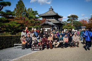 Group photo at the Tofukuji Temple