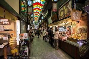 Shopping at the Nishiki Market