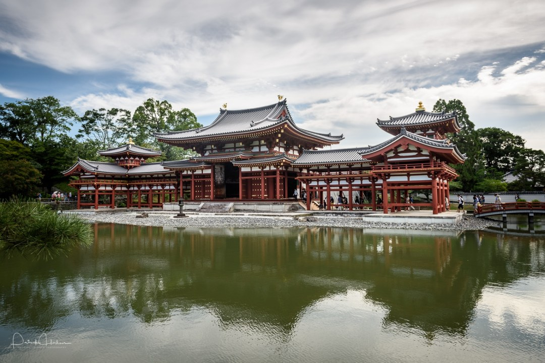 The Phoenix Hall, Byodoin Temple, Uji city, Japan