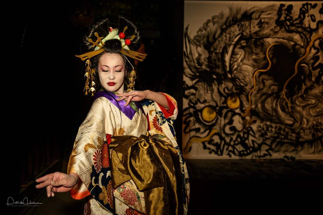 Performance with an Oiran