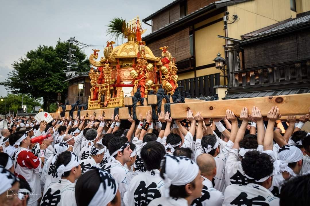 Shinko-Sai Ceremony during the Gion Matsuri, Kyoto