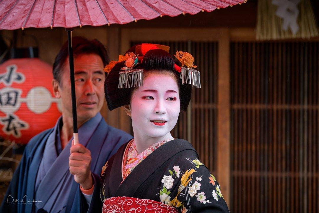 Misedashi of Maiko Haruchizu