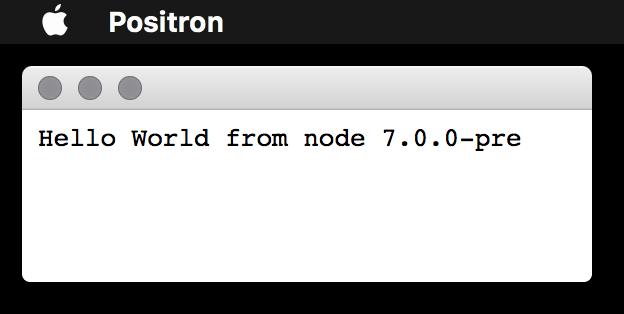 Hello World Server Demo