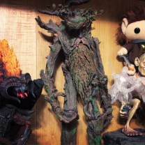 I think one of my best deals was my Treebeard action figure. I got it a couple years ago at NYCC for $30 and I think that's good because if you look it up online, people are selling it for pretty outrageous prices! I mean, $30 is still a good chunck of change, but it was my splurge item at the convention. At first I wanted to keep it inside the original packaging but in the end I decided to take it out.
