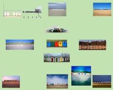 beach huts grid