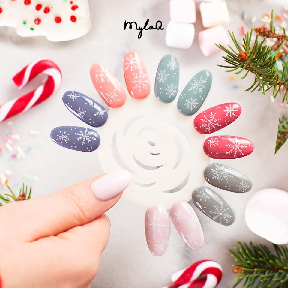 Pomysly Na Swiateczny Manicure Z Mylaq Sklep Online Mylaq Pl
