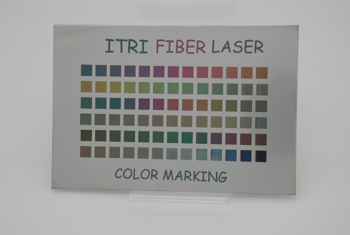 ITRI Laser Sample