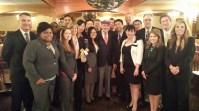 Group photo with Warren Buffett