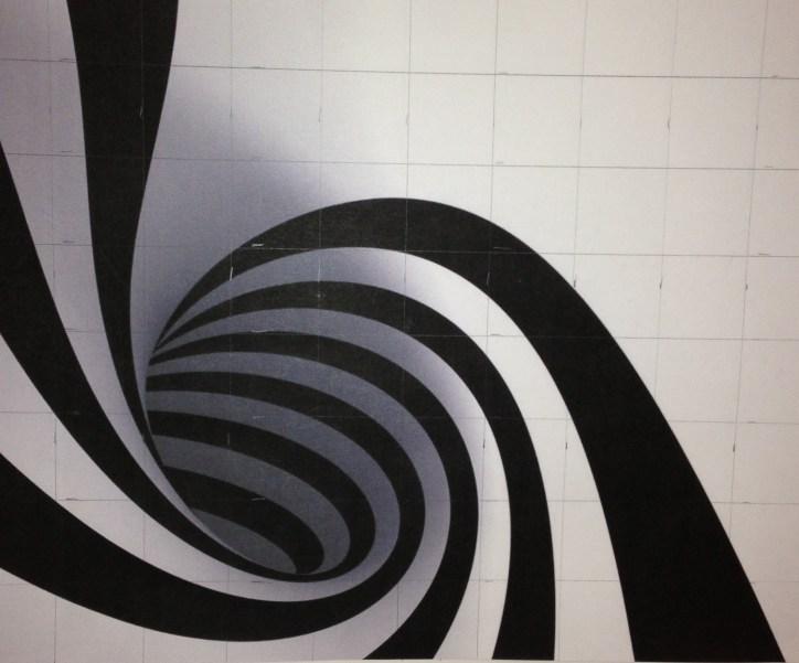 Black and white image for grid design