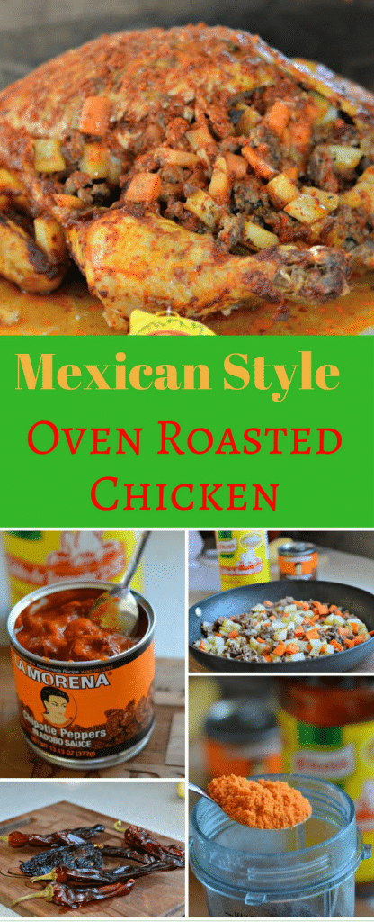 Mexican Style Oven Roasted Chicken