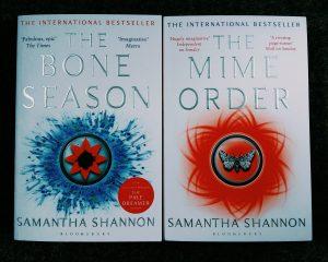 the bone season, the mime order, samantha shannon, mylavendertintedworld,. waterstones sheffield, sheffield blogger
