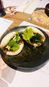 steamed buns, bbq beef, wagamama's sumemr menu, food, mylavendertintedworld