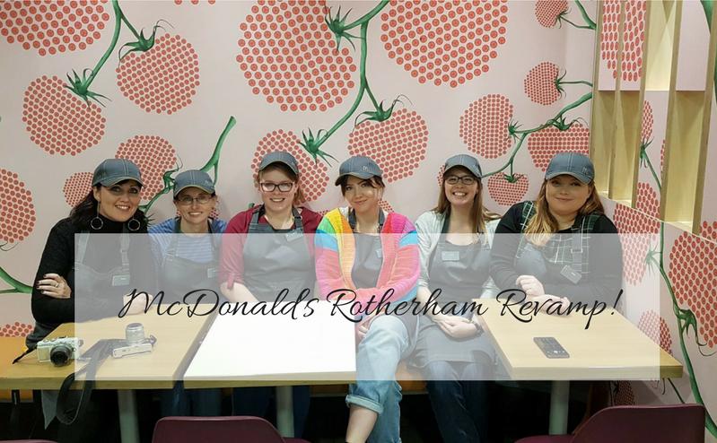 Mcdonald's rotherham, mcdonald's revamp, revamp, sheffield bloggers, food bloggers, mylavendertitnedworld