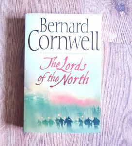 One of the books from my birthday book haul. This i the front cover of Bernard Cornwells The Lords of the North which is about Ragnar Lothbroks ravaging of England.