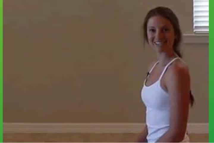Yoga back stretching