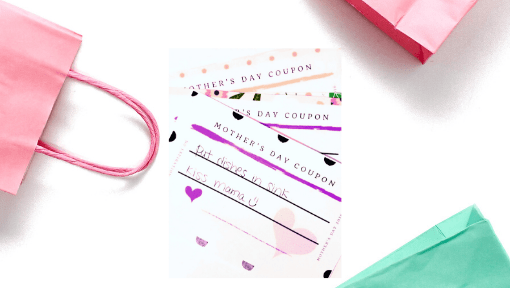 Mother's day coupons free printable