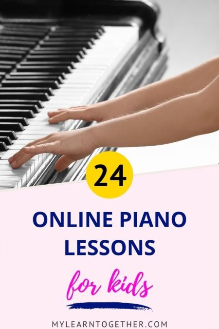 Online piano lessons and app for kids
