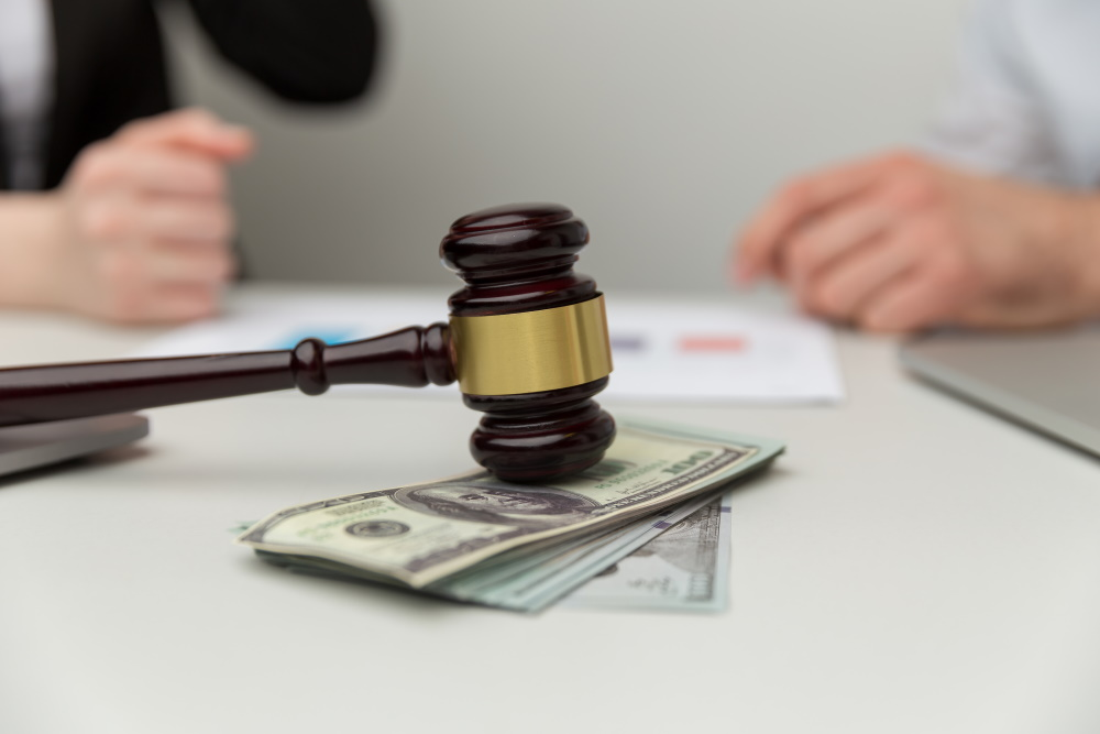 separated couple agreeing to temporary spousal support
