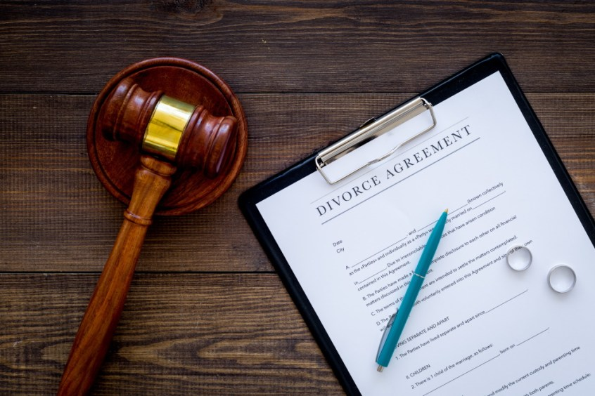 diy divorce documents