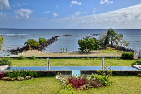 From the terrace, Pointe aux Biches, Mauritius 2019
