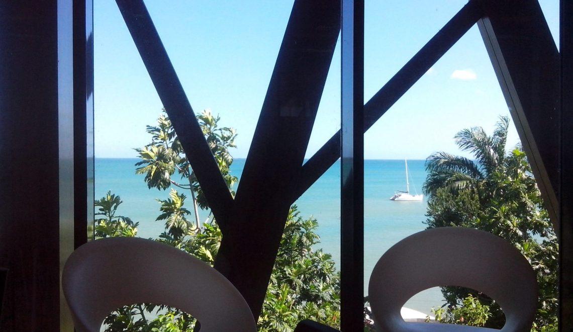 Guadeloupe : la jolie vue de la bibliothèque Mado