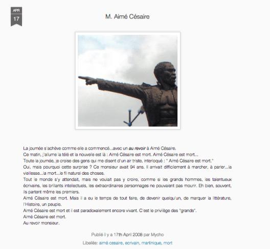 17.04.08 - Aimé Césaire