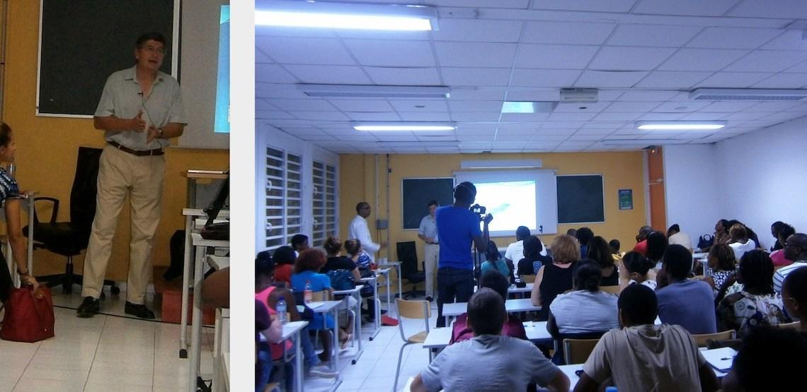 En Guadeloupe, d'un monde à un autre, via deux conférences (volet 2