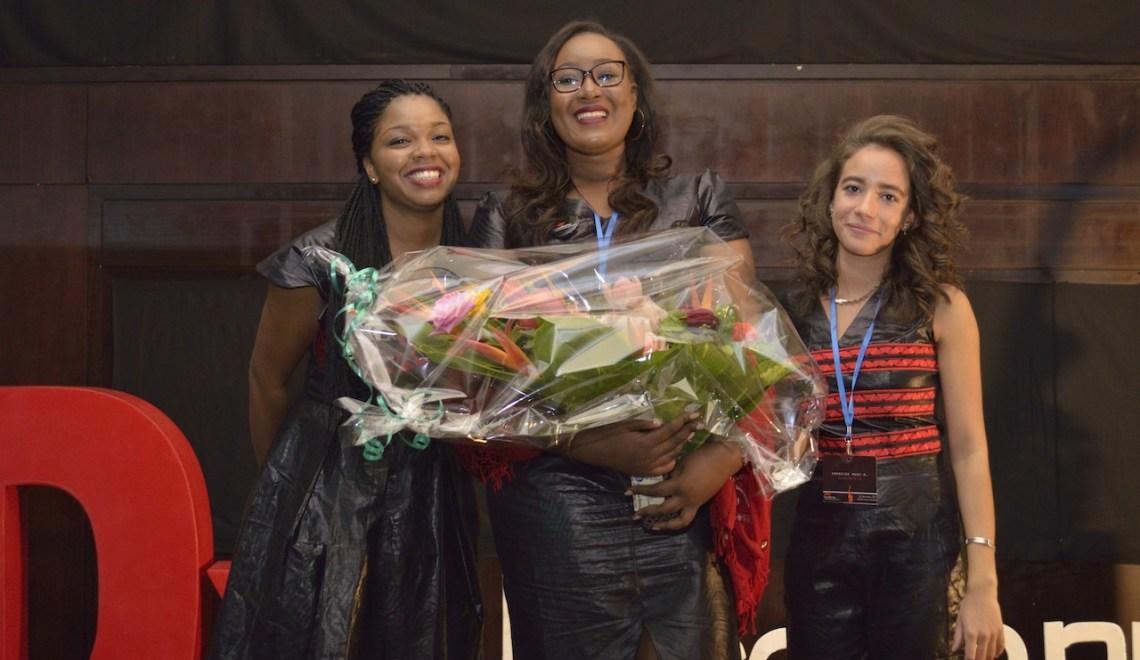Avec TEDxFasokanu, les yeux pleins d'étoiles pour Malika Danican