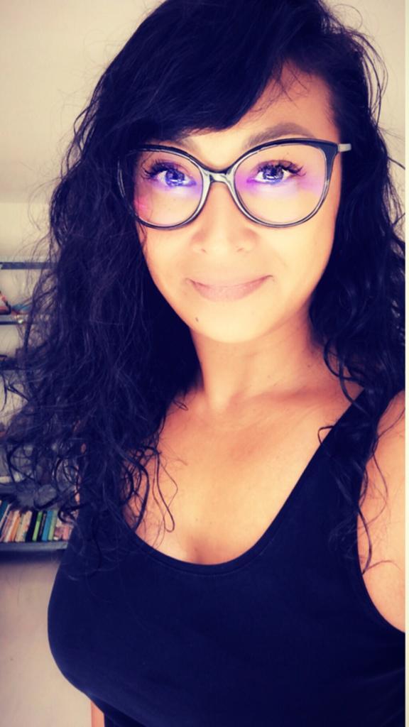 mylene Klein met bril
