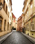 wandering in the streets of old Prague