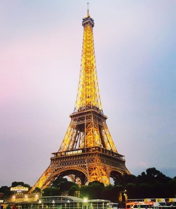 Eiffel at night <3