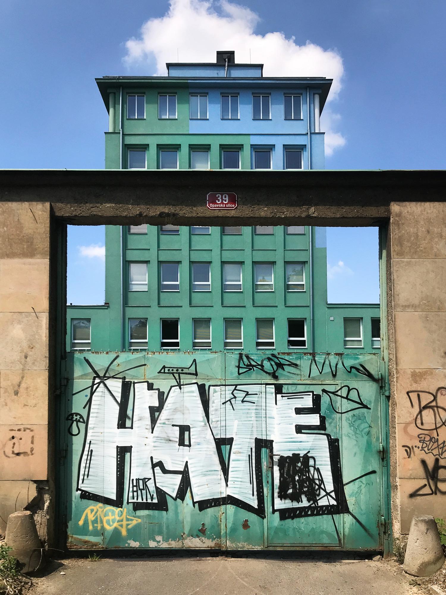 Hate Graffitti