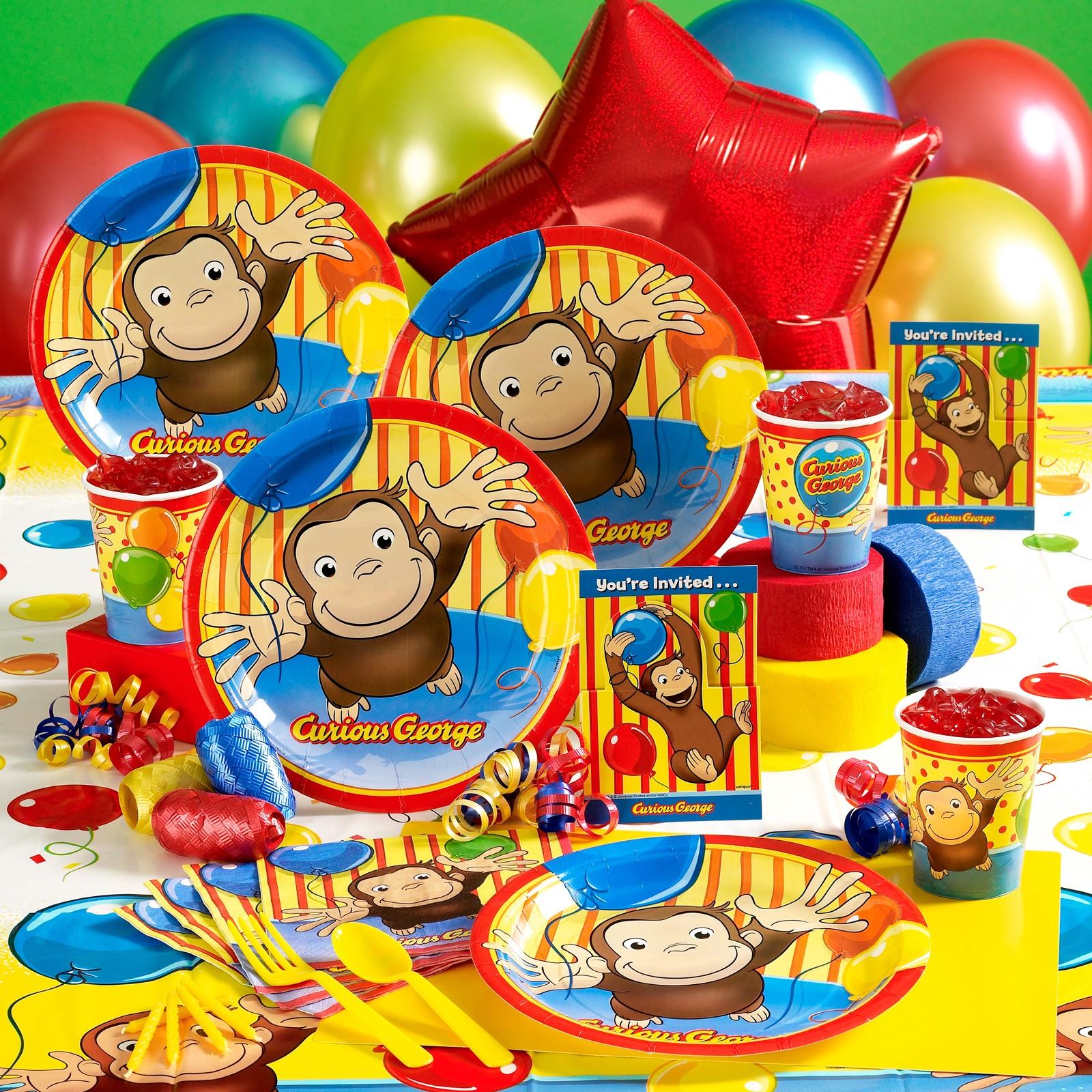 Curious George Birthday Party Theme Idea Mylesjerry