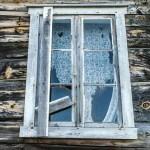 Exterior image of a small home farmhouse. Estevan Saskatchewan Canada.