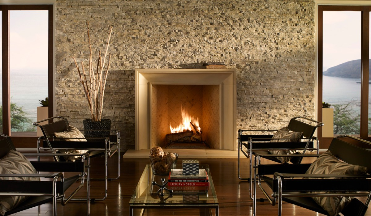 Eldorado Stone for Interior and Exterior Fireplaces