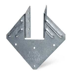 Simpson H1 light gauge steel hurricane rafter tie
