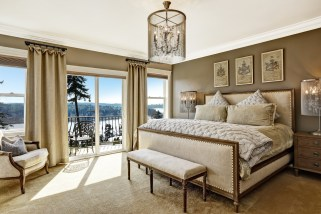 Details of a Master Bedroom Design by Myles Nelson McKenzie Design-Seattle Wash