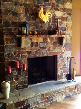Home Remodel-Italian Ranch-Orange Acres-Great Room Fireplace